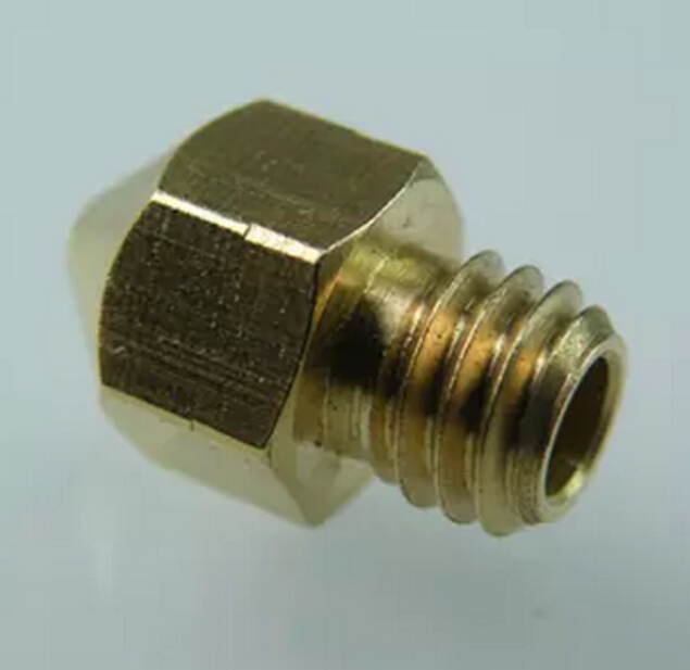 3D printer nozzle V6 V5 j head brass nozzle 1.0mm For 3.0mm supplies extruder