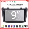 "Kirinavi high quality WC-MZ9005 9"" andriod 6.0 car dvd player for mazda 3 mp3 player 2010 - 2012 Wifi 3G"
