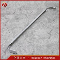 Chinese original white double or single curtain rod and rails