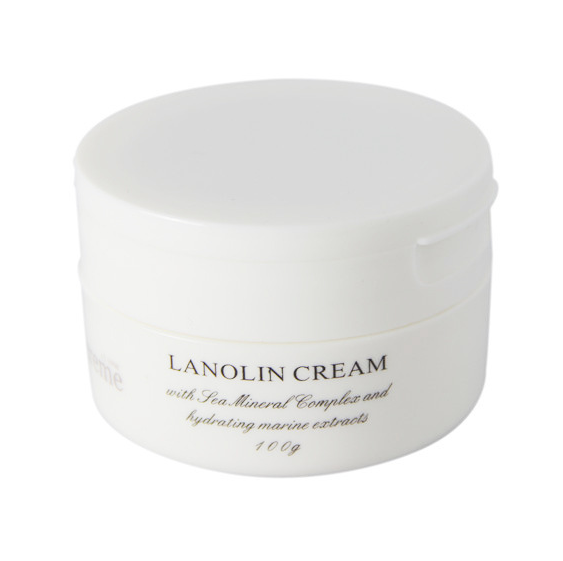 Mineral Lanolin Cream for dry skin hydrating and skin care