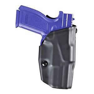 Safariland 6379 ALS Clip-On Holster, Glock 17, 22, Plain Black, Right Hand,