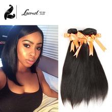 7A brazilian virgin hair weave bundles 4Pc straight Unprocessed Virgin Hair Laurel Hair Style Straight 4