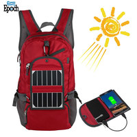 Durable lightweight 18L collapsible nylon wholesale solar backpack bag