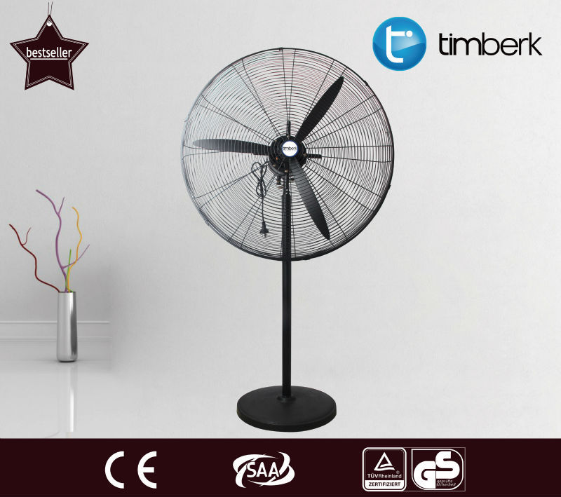"20"" 26"" 30"" High quality large airflow metal industrial stand fan"