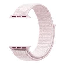 Ремешок для часов iWatch, легкий, дышащий, нейлоновый, спортивный, 44 мм, 40 мм, для Apple Watch Series 5, 4, 3, 2, 1, 42 мм, 38 мм(Китай)