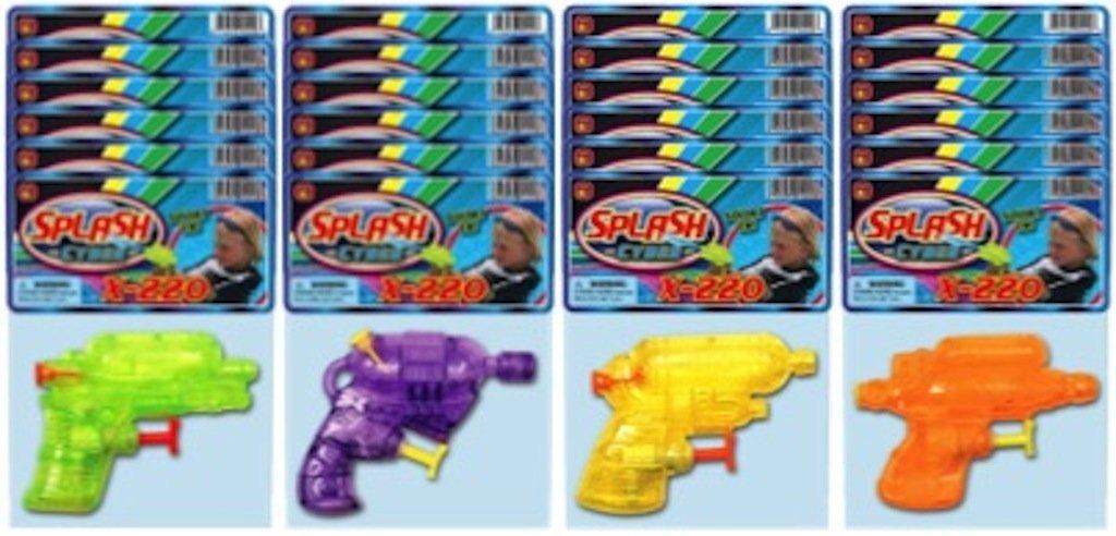 Ja-Ru Splash Cyber X-220 Party Favor Bundle Pack