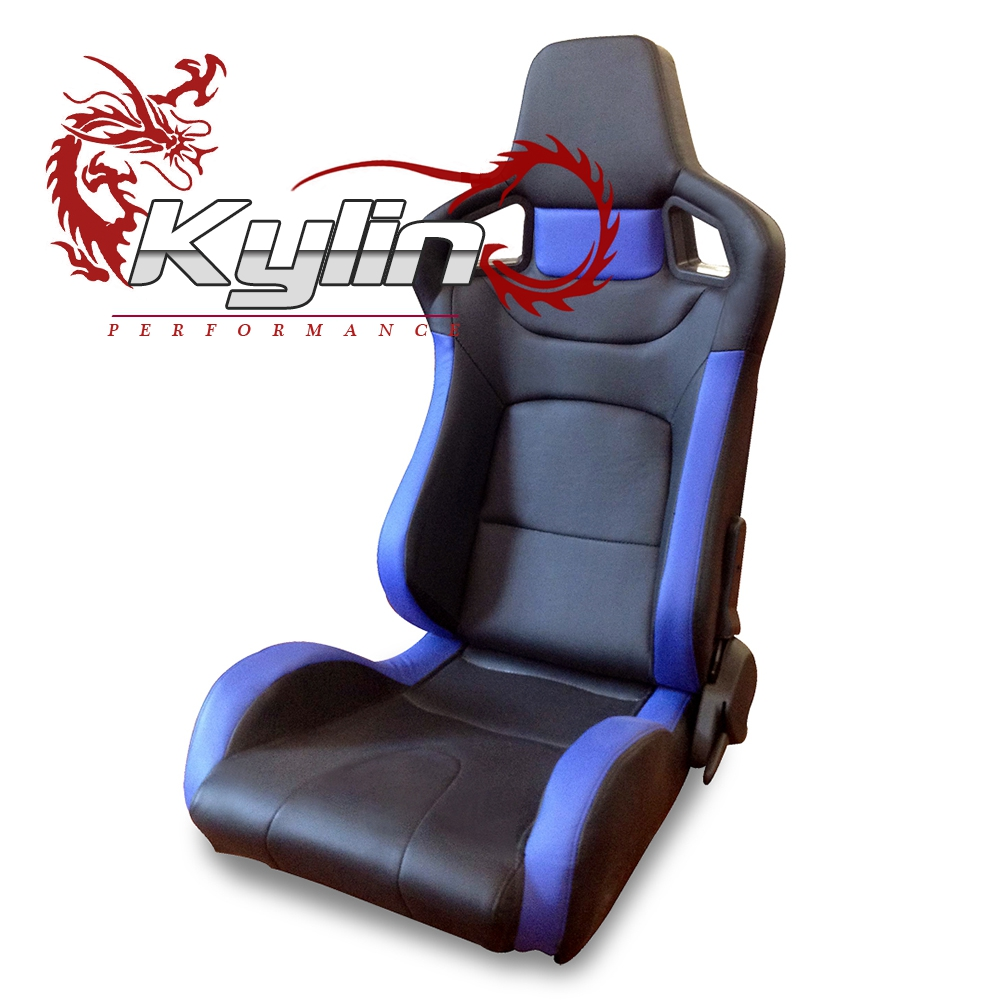 kylin racing Approval Sport Car Bucket Seats with Carbon Fiber