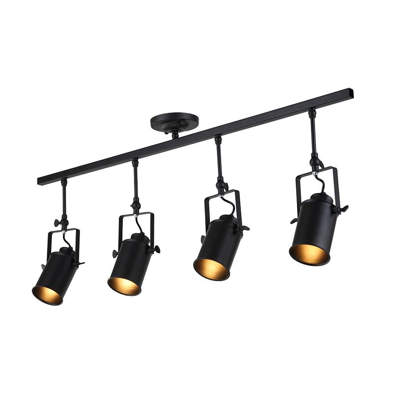 Industrial Led Spot Lamps Black Ceiling Light Vintage Retros style for indoor lighting