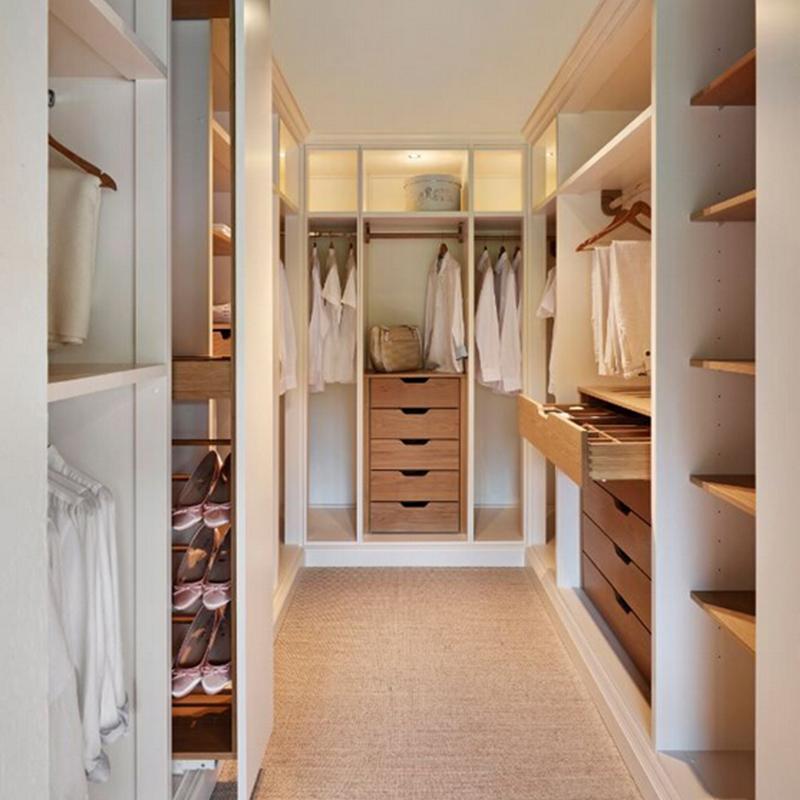 Foshan muebles de dormitorio Pared de madera montado armario ...