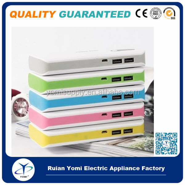 Universal 16800mah Mobile phone power bank portable charger yinzhuan brand yomi brand real capacity 11000mah