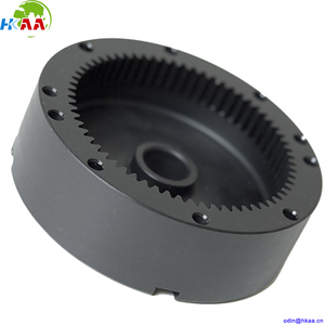High quality black nylon plastic internal ring gear with good price