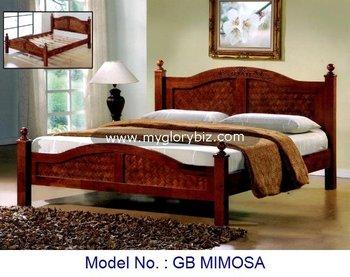 Houten Slaapkamer Meubels : Compleet houten slaapkamer meubilair set met garderobe night stand