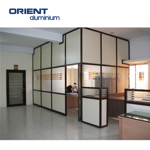 aluminium partition wall detail dwg aluminium frame acoustic full height  glass partition