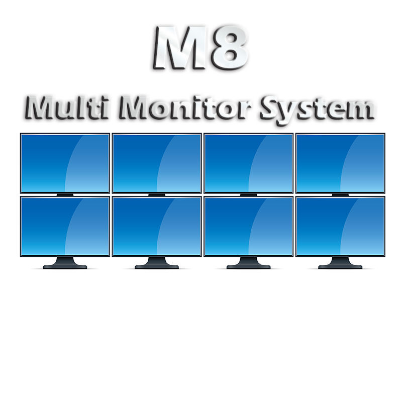 KF M8 Multi Monitor 8 Display System