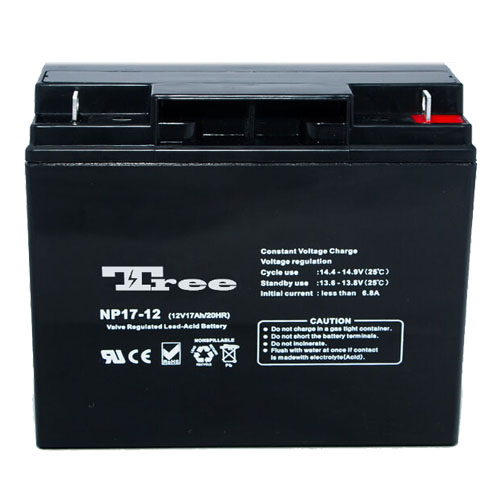 Free Maintenance 6 fm 17 battery bateria de 12v 17ah