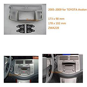 Autostereo 2 Din Car Radio fascia for TOYOTA Avalon 2005-2009 Car Radio Surround Celsus Car Radio Installation Frame TOYOTA Avalon Stereo Fascia Dash CD Trim Installation Kit