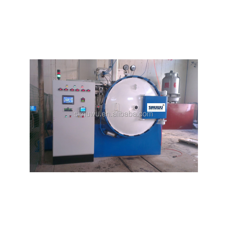 high temperature vaccum heat treating furnaces for vacuum plus magnetic