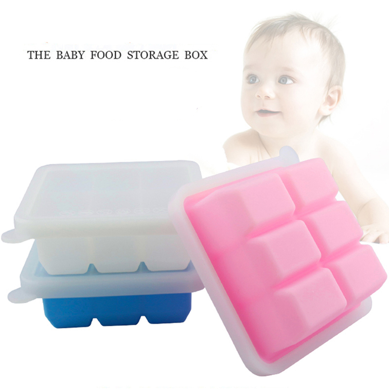 Ice Cube Tray With Lid For Baby Food