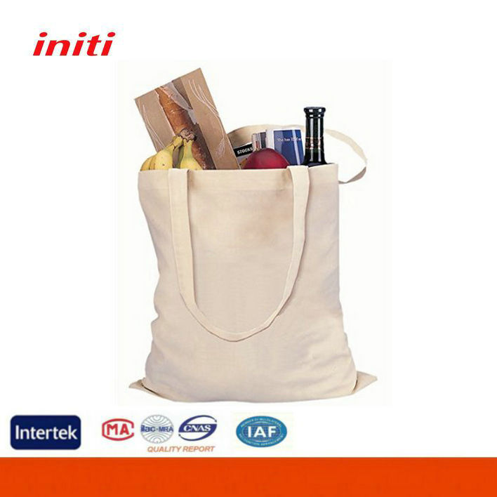 2016 INITI Fashion Quality Customized canvas tote bag blank