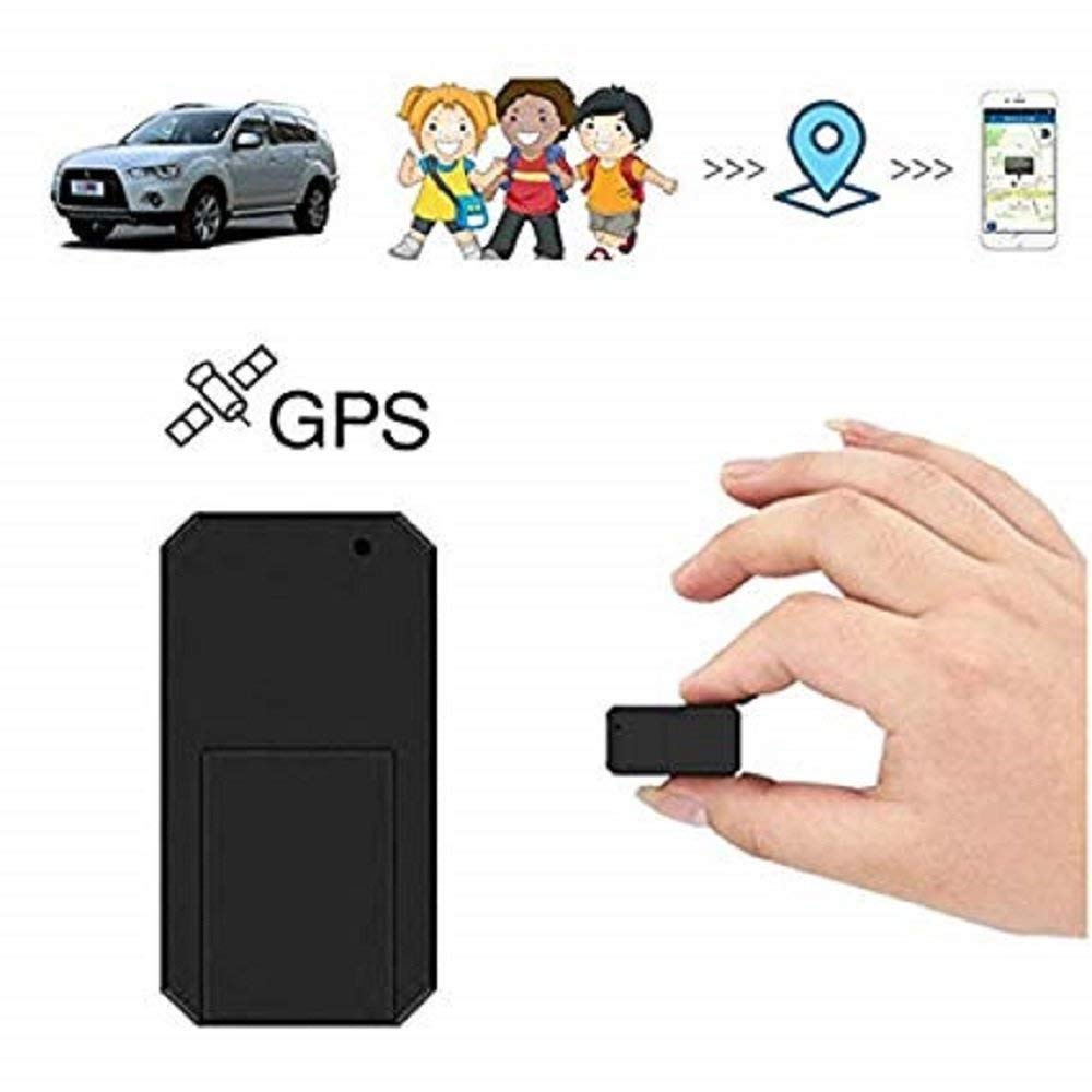 GpsTracker,Hangang Mini GPS Tracker Tracking Device Built-in 200mA Battery Long Standby Sattelite GPS Tracker GPS/lbs/GSM/GPRS Tracker Locator for Kids Seniors Pets Cars Real Time GPS Tracker CS901