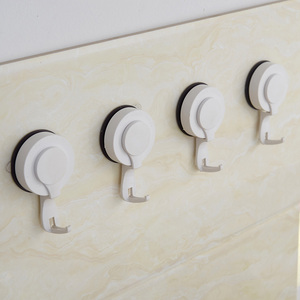 PVC plastic decorative hooks removable suction cup sucker hooks bathroom wall kitchen hanger