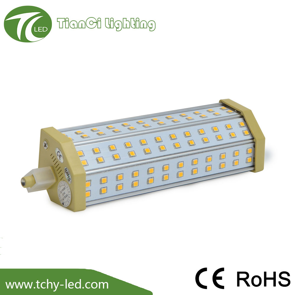 replace double ended halogen bulb 200 Degree 135mm 12W r7s <strong>led</strong>