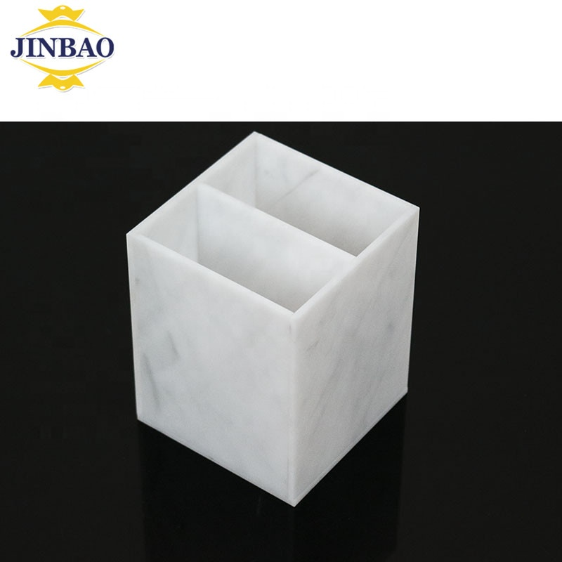 JINBAO Acryl opbergdoos/pen houder/bestand houder acryl briefpapier acryl pen display case voor office desktop