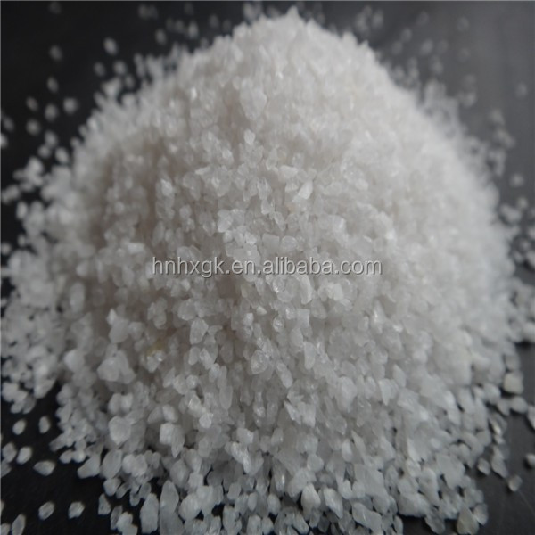 Silica sand for sand blasting/glass manufacture