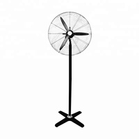 Kanasi 20 26 30 Inch OEM Industrial Stand Fan With Plastic Blade