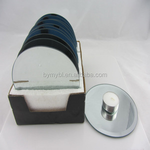 cheapest round mirror candle plate