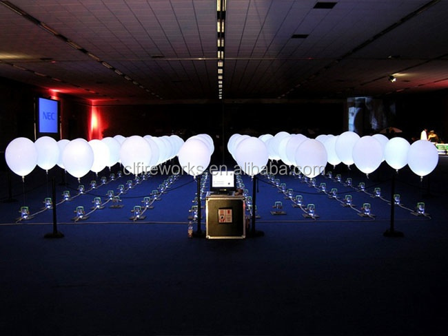 Fancy Led Balloon For Wedding Decoration Light Up