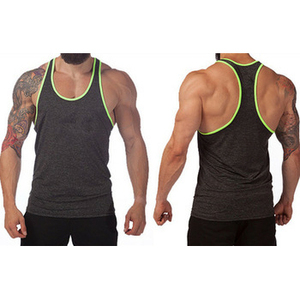 Sexy men sublimated singlets, custom design gym tank top wholesale