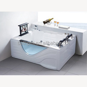 1*1.0HP computer panel double setting whirlpool bathtub