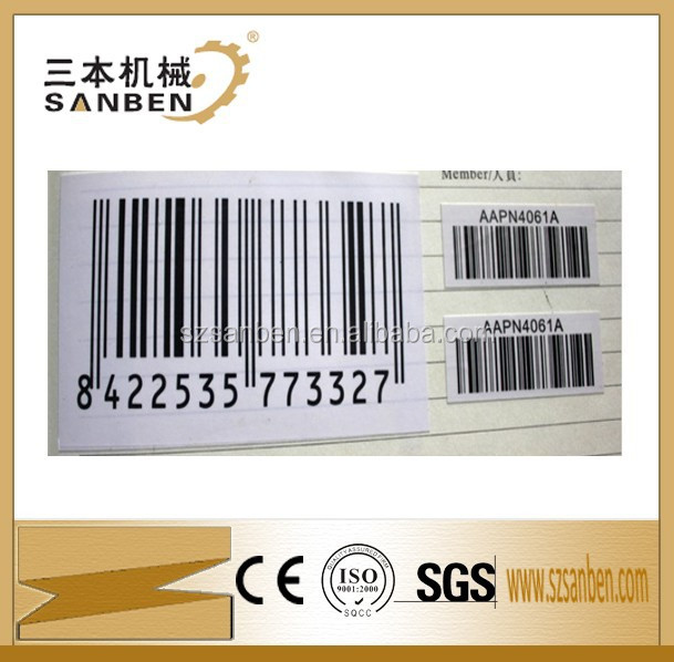 Retail anti-theft label for checkpoint barcode label with price labels
