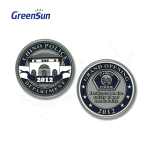Newest Metal Souvenir Silver Coin Replica