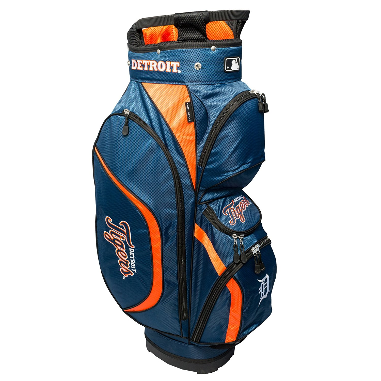 Team Golf MLB Clubhouse Golf Cart Bag - Detroit Tigers