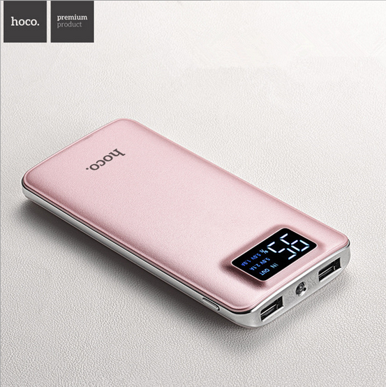 HOCO UPB05-10000 mobile Power bank 10000mah 5V 2A portable charger 10000 mah travel outdoor digital device battery