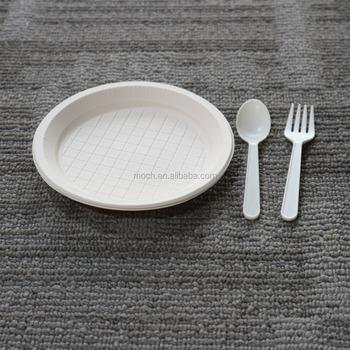White PP Cheap Reusable Hard Plastic Disposable Plates & White Pp Cheap Reusable Hard Plastic Disposable Plates - Buy ...