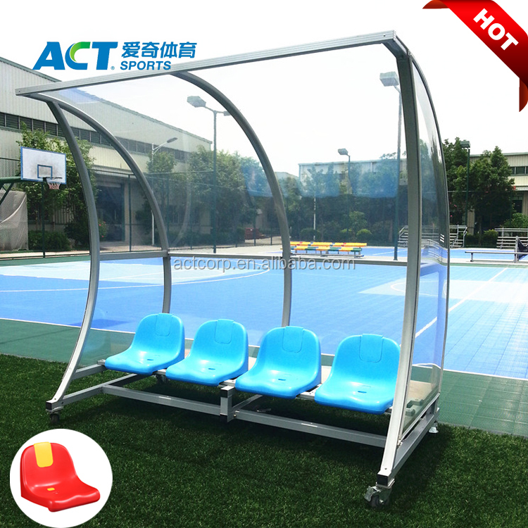 1a3f3fb0a Shatter Proof Portable Football Team Shelter Soccer Dugout - Buy ...