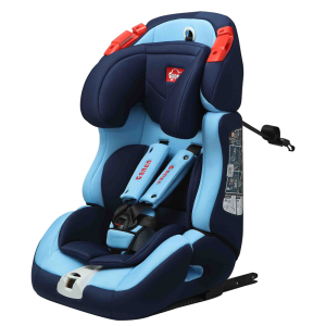 isofix grey Booster Baby Car Seat With Professional Technical Support