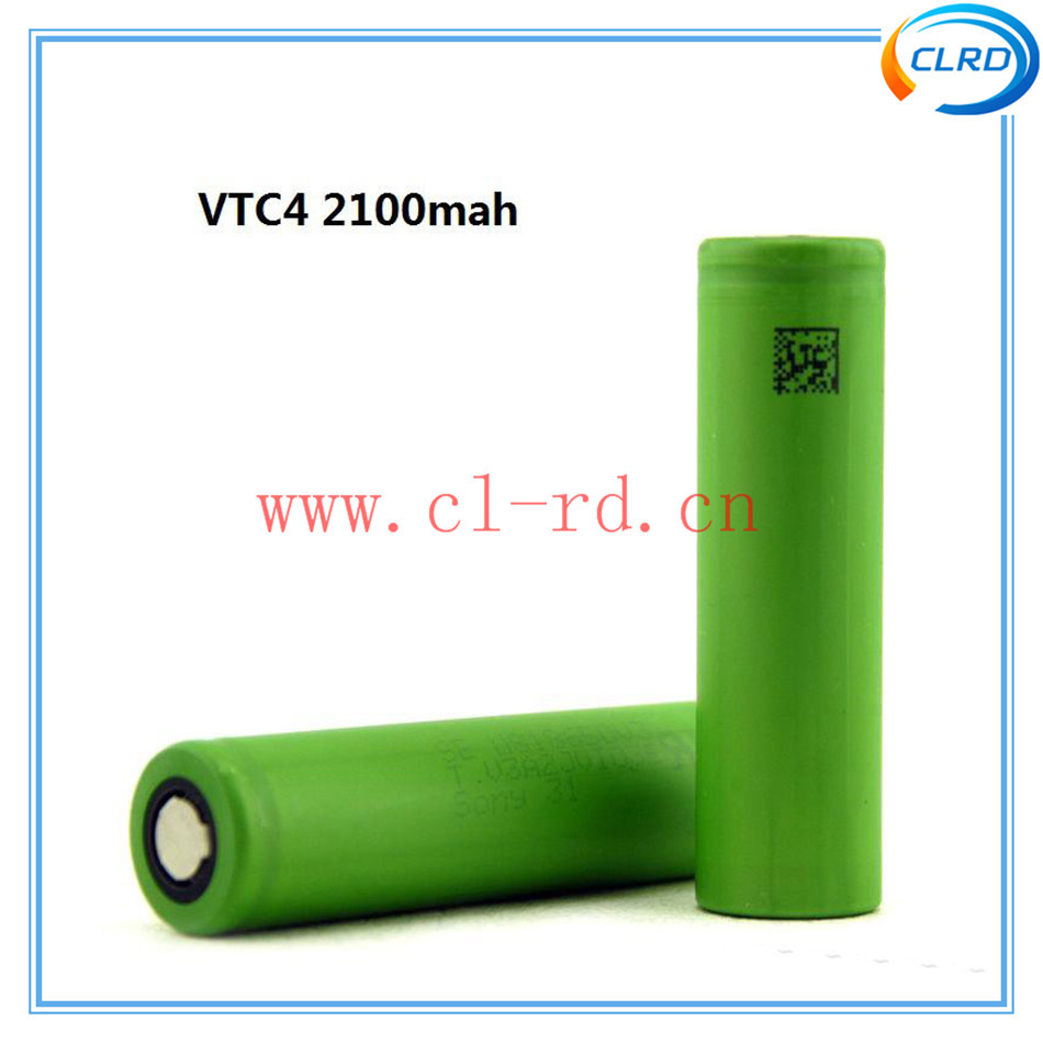 On sale !! authentic 3.7v 7.77wh battery US18650VTC4 18650 2100mAh 30A discharge li-ion battery cell