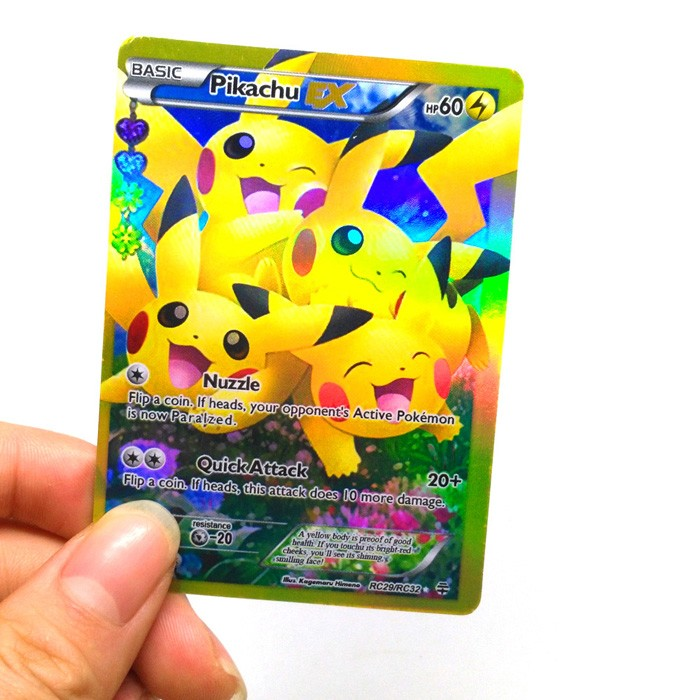2017 nuove carte pokemon carte carte da gioco fresco flash mega GX pokemon trading cards per i bambini