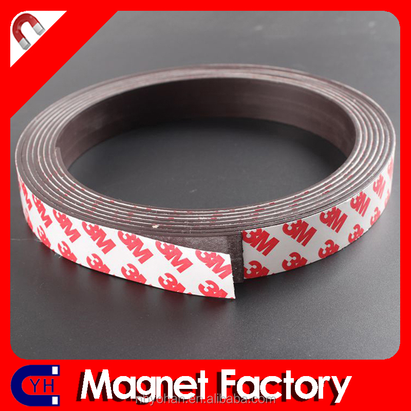 Flexible Adhesive Magnets with 3M Adhesive 20mm x 2mm or other sizes