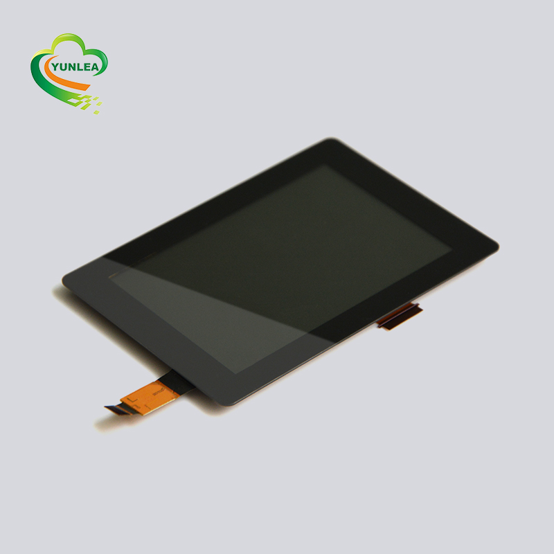6 H oppervlaktehardheid 3.5 inch tft touch lcd module met capacitieve touch panel