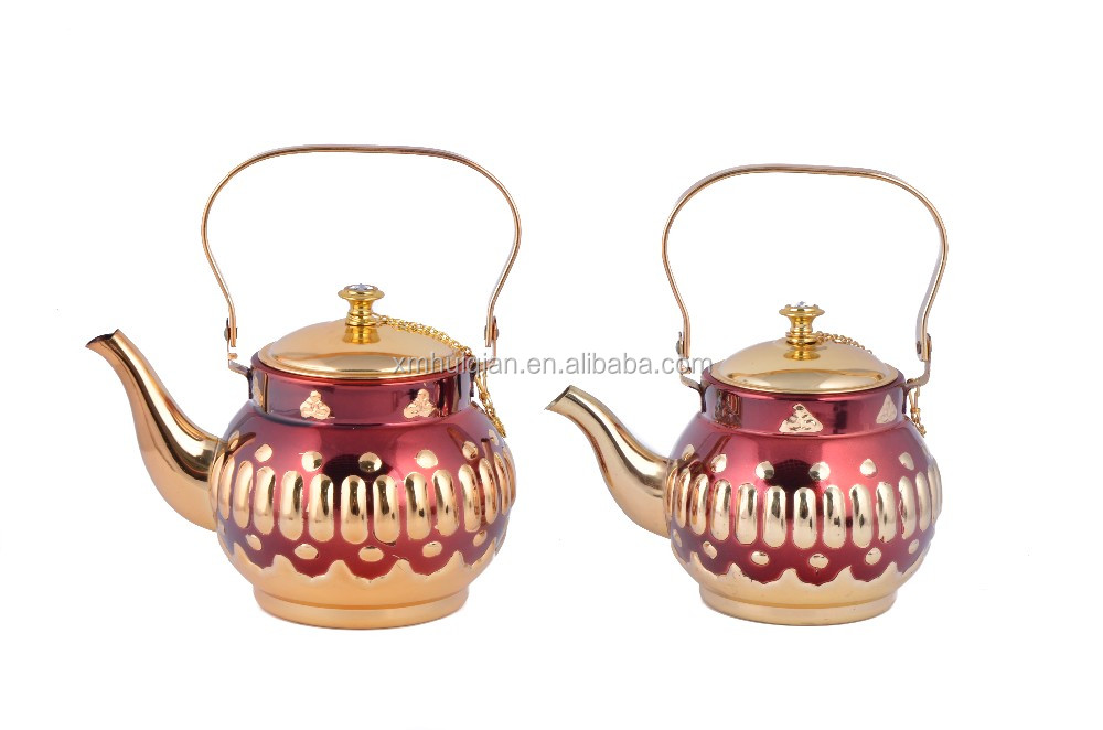0.9L-1.9L Red Copper Tea Kettle For Coffee&Tea