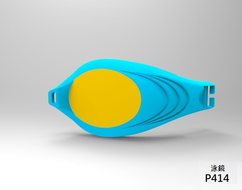 Swimming goggles Myopia Lenses Color and Silicone Frame Material mould