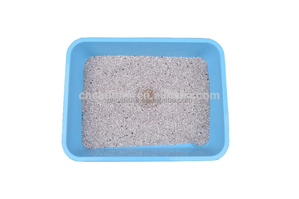 Hot sale CIPS new type irregular shaped mineral clumping pet sand