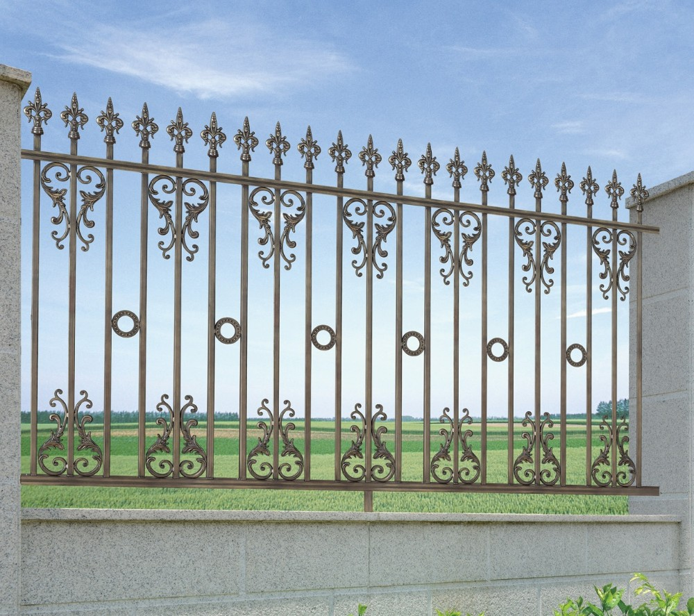 Latest modern simple ornamental cast aluminum picket fence latest modern simple ornamental cast aluminum picket fencephilippines gates and fencescheap fence baanklon Choice Image