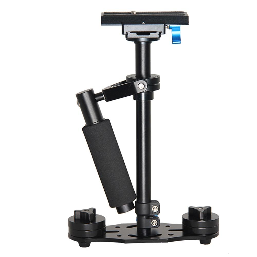 YELANGU 40cm Aluminum Alloy Handheld Gimbal DSLR Camera Steadicam Stabilizer