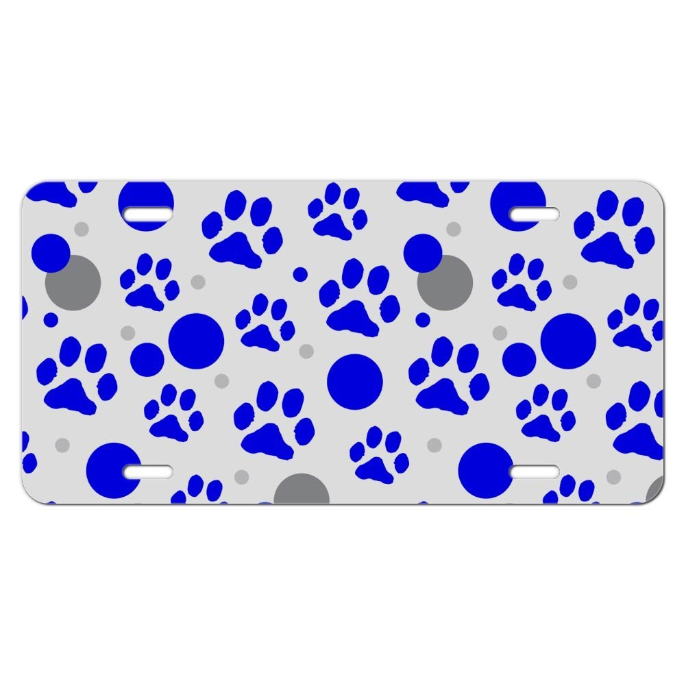 Cheap Paw Print License Plate Frames, find Paw Print License Plate ...